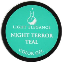 Light Elegance Night Terror Teal Color Gel (UV / LED Gel)