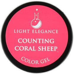 Light Elegance Counting Coral Sheep Color Gel (UV / LED Gel)