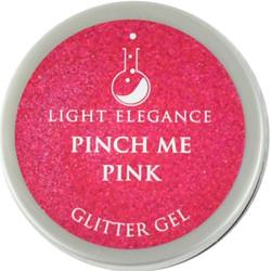 Light Elegance Pinch Me Pink Glitter Gel (UV / LED Gel)