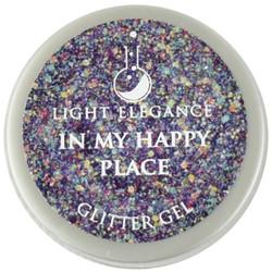 Light Elegance In My Happy Place Glitter Gel (UV / LED Gel)