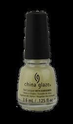 China Glaze Ghoulish Glow (Glow in the Dark Topcoat) - Mini (0.125 fl. oz. / 3.6 mL)