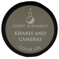 Light Elegance Khakis and Cameras Color Gel (UV / LED Gel)