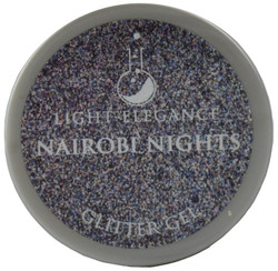 Light Elegance Nairobi Nights Glitter Gel (UV / LED Gel)
