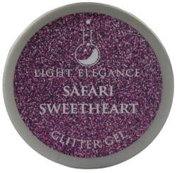 Light Elegance Safari Sweetheart Glitter Gel (UV / LED Gel)