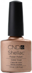 CND Shellac Iced Cappuccino (UV Polish) nail polish