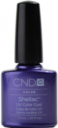 CND Shellac Purple Purple (UV Polish) nail polish