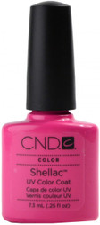 CND Shellac Hot Pop Pink (UV Polish) nail polish