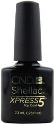 CND Shellac Xpress 5 Top Coat (0.25 fl. oz. / 7.3 mL)