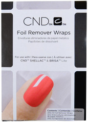 CND Shellac 10 Pack Shellac Foil Remover Wraps