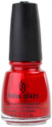 China Glaze Red Pearl nail polish