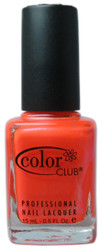 Color Club Tangerine Scream nail polish