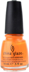 China Glaze Orange You Hot? nail polish