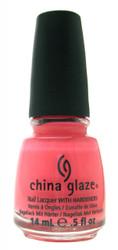 China Glaze Pink Plumeria nail polish