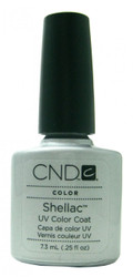 CND Shellac Silver Chrome nail polish