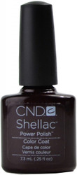CND Shellac Dark Lava nail polish