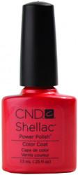 CND Shellac Hot Chilis nail polish