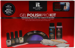 Red Carpet Manicure Gel Polish Pro Kit (w/ Professional LED Light)