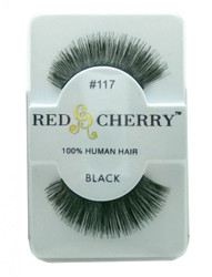 Red Cherry Lashes # 117 Red Cherry Lashes (Black)