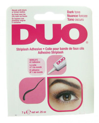 Duo Eyelash Adhesive Duo Dark Striplash Adhesive  / Glue (0.25 oz)