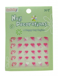 Berkeley Hearts 3D Nail Decal
