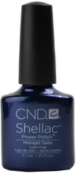 CND Shellac Nails Midnight Swim