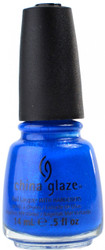 China Glaze Blue Sparrow nail polish