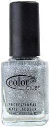 Color Club Silver Glitter nail polish