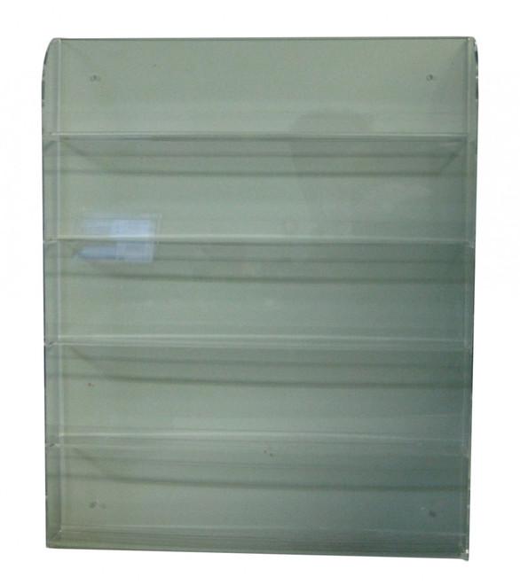 Assorted Acrylic Nail Polish Rack (Wall Mount - Holds 60Pc)