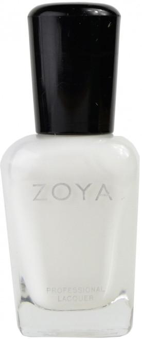 Zoya Snow White nail polish