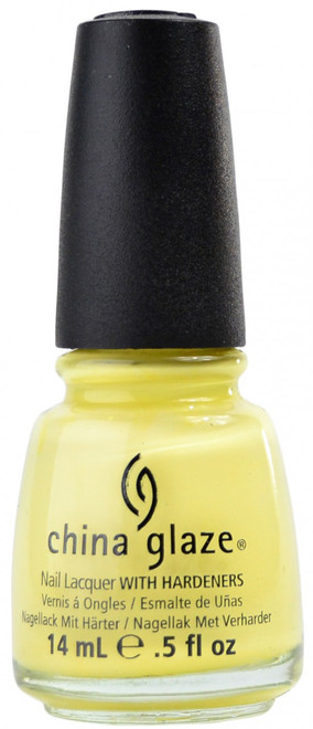 China Glaze Lemon Fizz nail polish