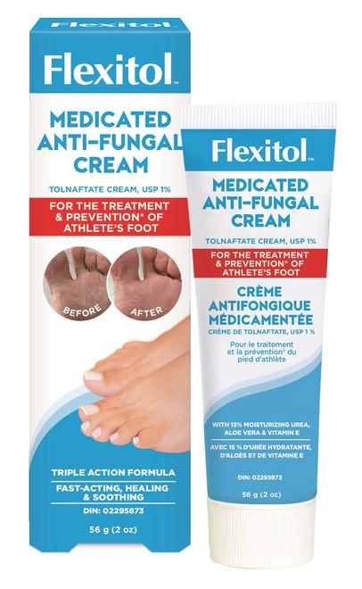Flexitol Medicated Anti-Fungal Cream (56 g)