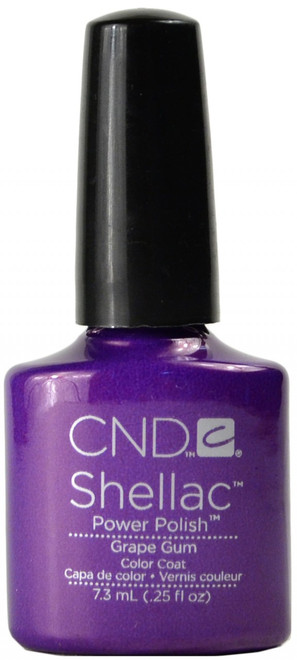 CND Shellac Grape Gum