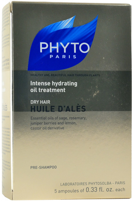 Phyto Huile D'Ales Intense Hydrating Oil Treatment (5x 9.7 mL Vials)