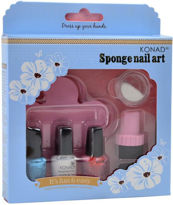 Konad Nail Art Sponge Nail Art Kit