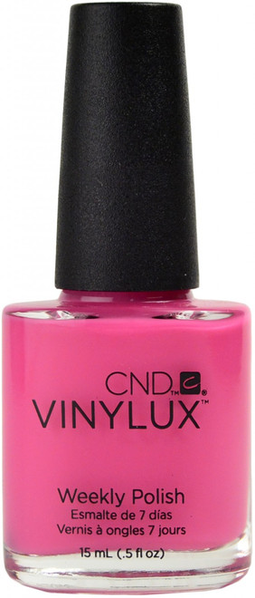 CND Vinylux Hot Pop Pink (Week Long Wear)