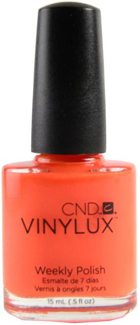 CND Vinylux Electric Orange (Week Long Wear)