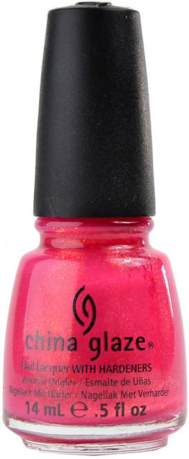 China Glaze Strawberry Fields nail polish