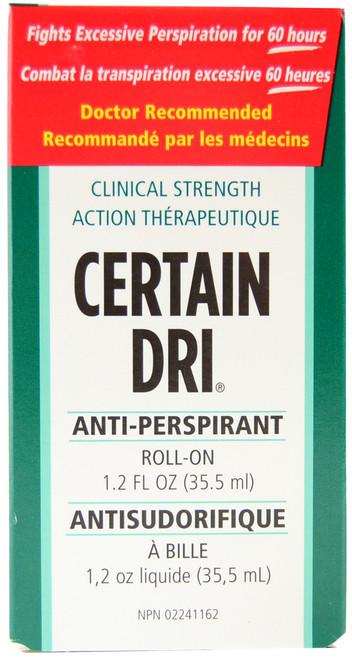 Certain Dri Roll-On Anti-Perspirant (35.5 mL)