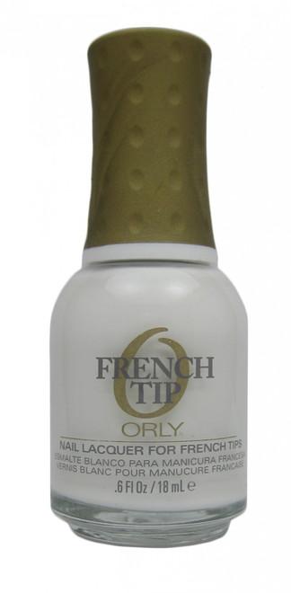 Orly White Tips nail polish