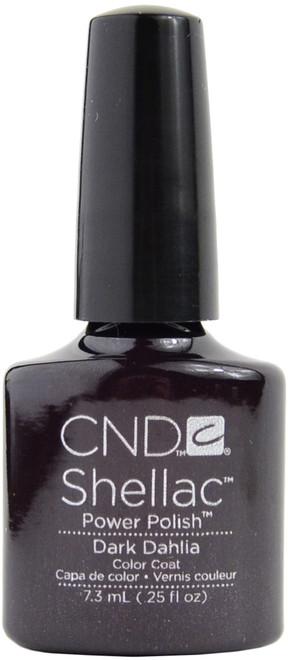 CND Shellac Dark Dahlia (UV Polish)