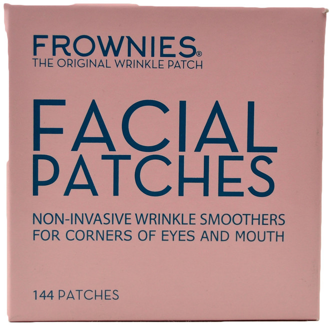 Frownies Facial Patches For Corners of Eyes & Mouth (144 pieces)