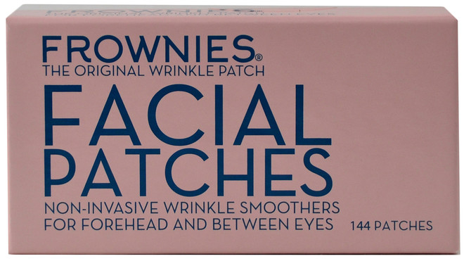 Frownies Facial Patches For Forehead & Between Eyes (144 pieces)