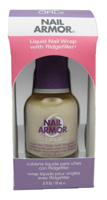 Orly Nail Armor Liquid Nail Wrap With Ridgefiller nail polish