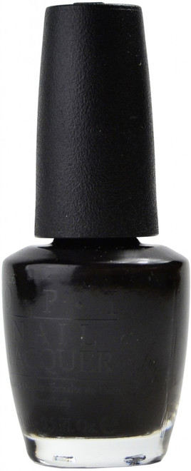 OPI Black Onyx nail polish