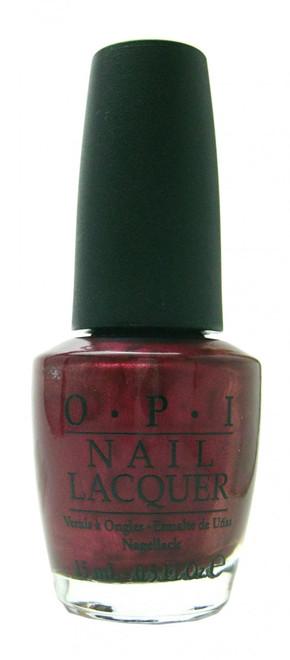 OPI Bogota Blackberry nail polish