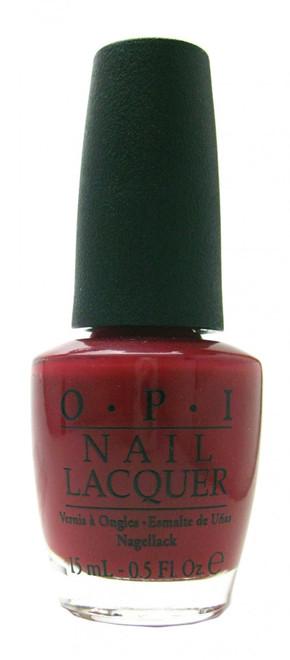 OPI Chick Flick Cherry nail polish