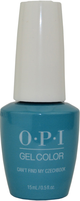 OPI GelColor Can't Find My Czechbook (UV / LED Polish)