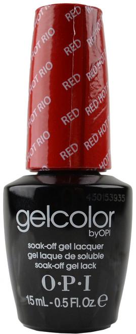 OPI GelColor Red Hot Rio (UV / LED Polish)