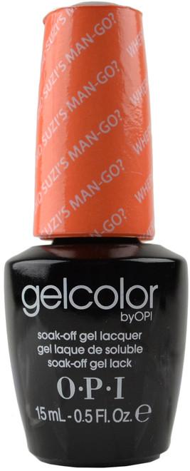 OPI GelColor Where Did Suzi's Man-go? (UV / LED Polish)
