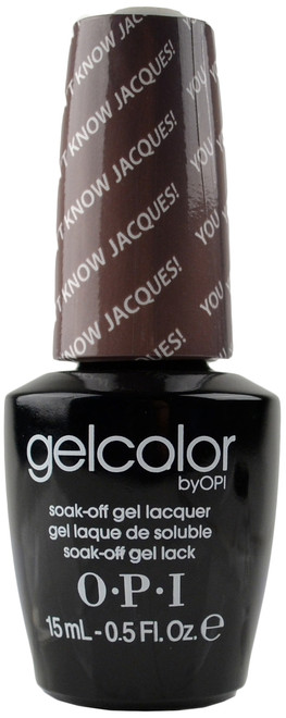 OPI GelColor You Don't Know Jacques! (UV / LED Polish)